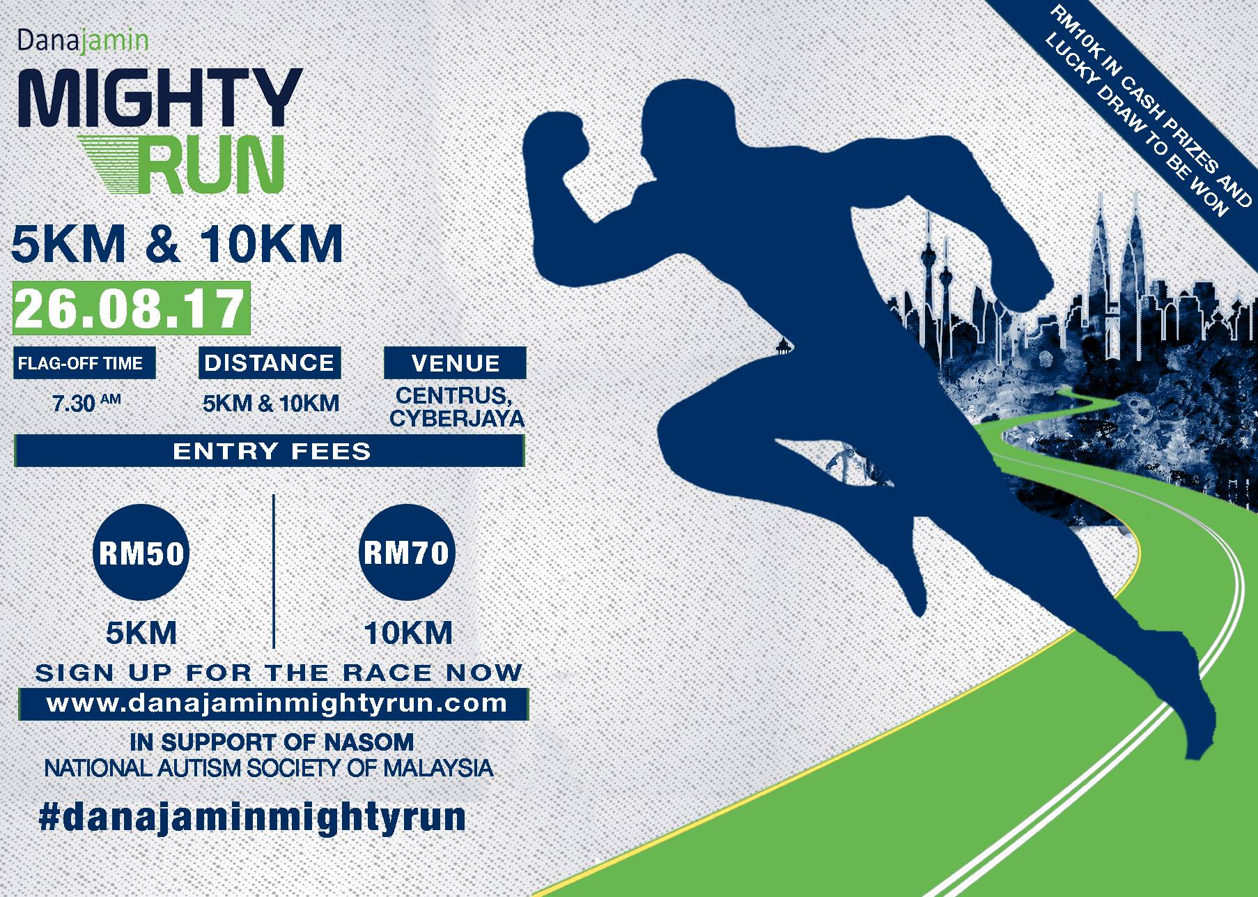 danajamin mighty run